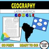 Latin America Geography UNIT PLAN