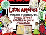 Latin America (Mexico, Central/South America) Geography Research Unit