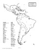 Latin America Map Game, WORLD HISTORY LESSON 86/100, Class Competition