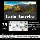 Latin America - Maps, Vocabulary, Aztecs, and More!