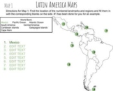 Latin America Maps - distance learning