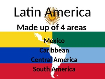 Latin America Power Point