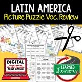 Latin America Activity Picture Puzzle, Test Prep, Unit Rev