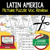 Latin America Picture Puzzle, Test Prep, Unit Review, Study Guide