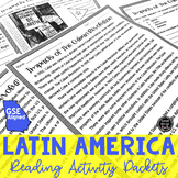 Latin America Reading Activity Packets BUNDLE