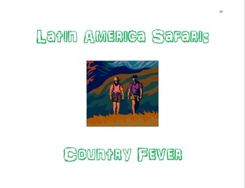Latin America Safari:  Country Fever Differentiation Packet