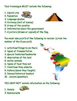 Latin America Travelogue