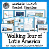 Latin America Walking Tour on History, Culture, Geography, Economy Gallery Walk