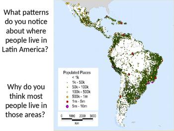 Latin America Warm Ups or Short Response