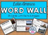 Latin America Word Wall