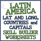 South and Latin America - Three Geography Exercises