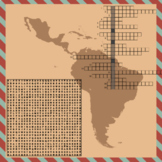 Latin America and Caribbean Word Puzzles