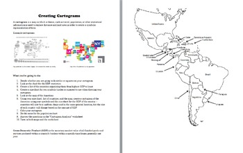 Latin America and US Cartogram Project