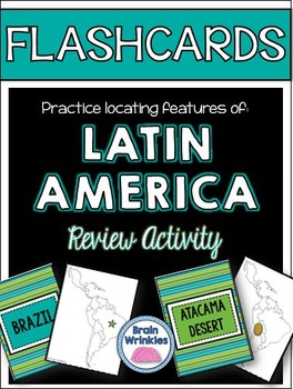 Latin America's Geography FLASHCARDS