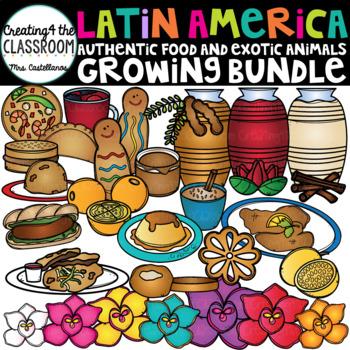 Latin American Clip Art Growing Bundle