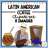 Latin American Coffee Clipart - Cafe Latino America Clipart