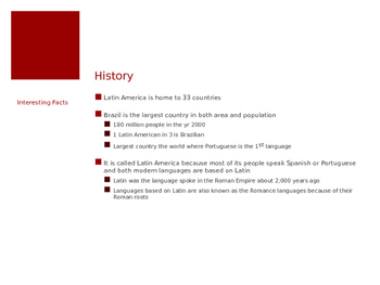 Latin American Culture PowerPoint