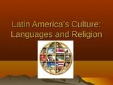 Latin American Culture - PowerPoint, Handout, Summarizer