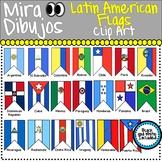 Latin American Flag Banderas Latino Americano