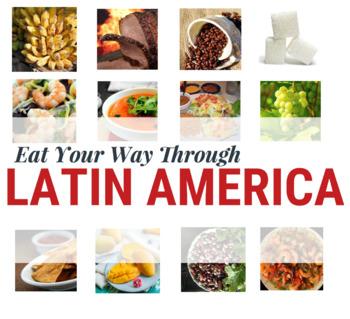 Latin American Foods Infographic