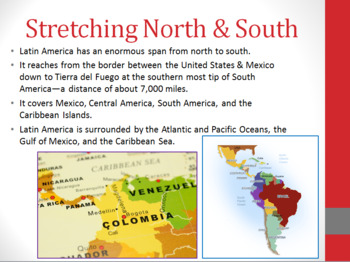 Latin American Geography PowerPoint