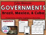 Latin American Governments - Brazil, Mexico, & Cuba (SS6CG1)