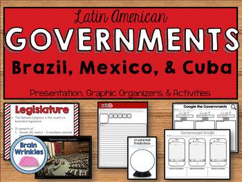 Latin American Governments - Brazil, Mexico, & Cuba (SS6CG2)