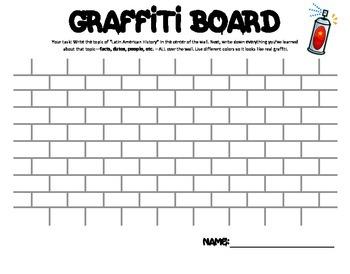 Latin American Graffiti Board