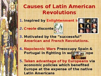 Latin American Independence PowerPoint