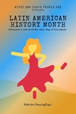 Latin American Music and Dance History Cards