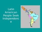 Latin American Revolutions