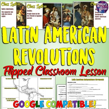 Latin American Revolutions Lesson