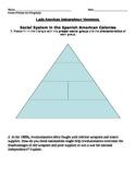 Latin American Revolutions follow up questions/worksheet