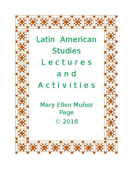 Latin American Studies. Lectures and Activities