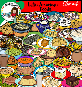 Latin American foods- Big set of 80 graphics!