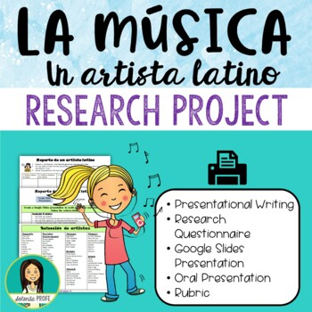 Latin Artist Research Project