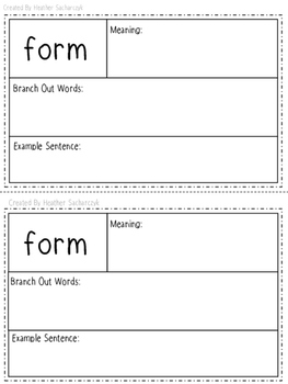 Latin Bases Student Booklet with Meanings