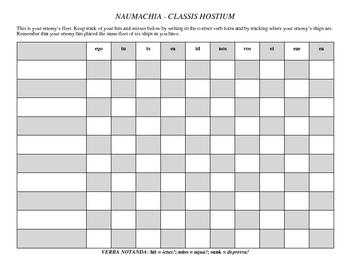Latin Battleship (Nouns & Verbs) Packet