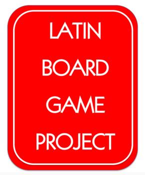 Latin Board Game Project