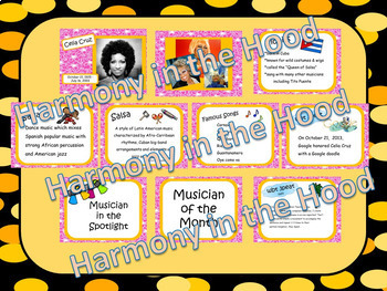 Latin Bundle #1: Musicians in the Spotlight