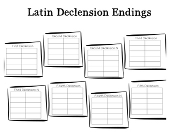 Latin Case Endings