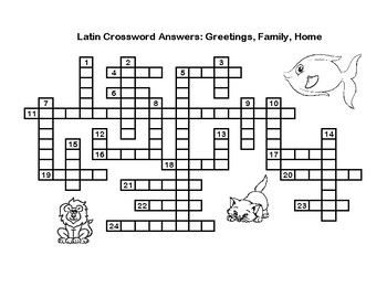 Latin crossword puzzle greetings family home tpt latin crossword puzzle greetings family home m4hsunfo