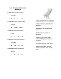 Latin Declensions Worksheet - First Year Explanations
