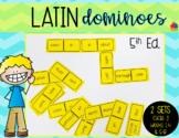 Latin Dominoes for Classical Conversations Cycle 3 Weeks 1-8 [5th Edition]