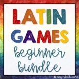 Latin Games: Beginner Bundle