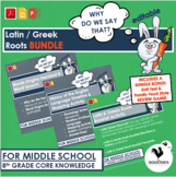 Latin & Greek Roots - Core Knowledge 8th Grade - Bundle {D