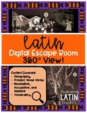 Halloween Escape Room: Digital Escape for Level 1 Latin
