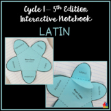 Latin Interactive Notebook (Classical Conversations Cycle 1 - 5th Ed)