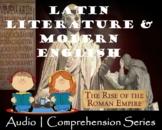 Latin Literature & Modern English   Distance Learning   Audio & Worksheets