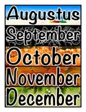 Latin Months of the Year